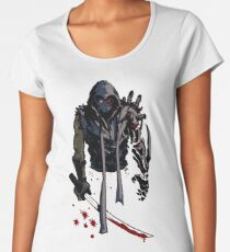 Cyborg Ninja Camiseta premium de cuello ancho