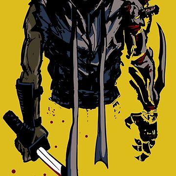 Cyborg Ninja de DibujarBien