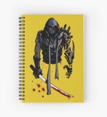 Cyborg Ninja Cuaderno de espiral