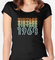 Camiseta entallada de cuello redondo Diseño retro del 51.o cumpleaños - Vintage 1968
