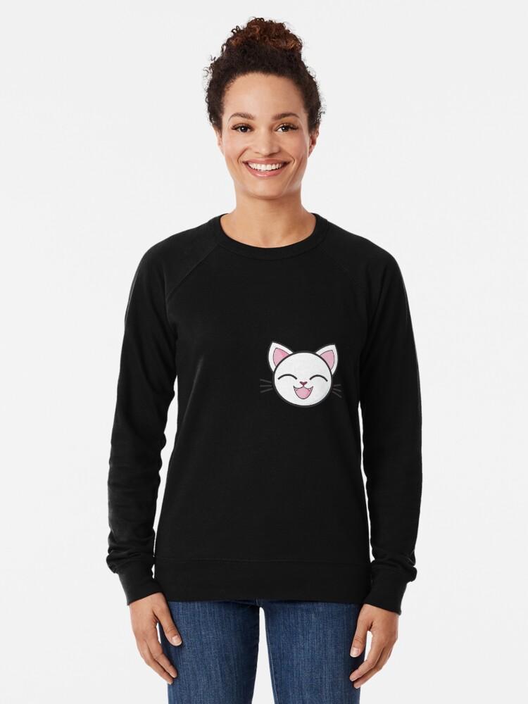 Alternative Ansicht von Meine Katze Leichter Pullover