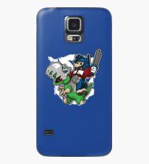 Optimus Mario Funda/vinilo para Samsung Galaxy