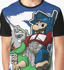 Optimus Mario Camiseta gráfica