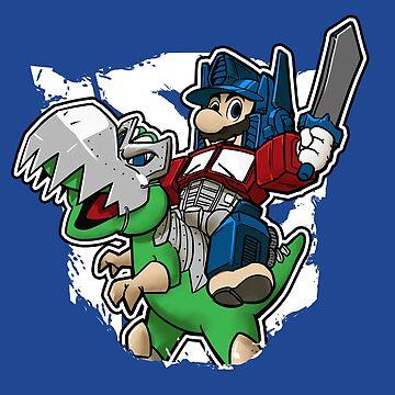 Optimus Mario de DibujarBien