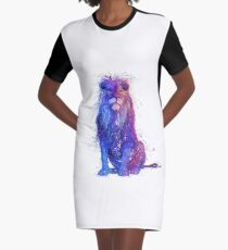 russian wired lion   Graphic T-Shirt Dress