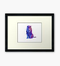 russian wired lion   Framed Print