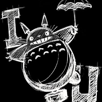 I Love Totoro and I love you too de DibujarBien