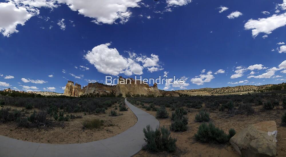 Grosvenor Arch, Utah by Brian Hendricks