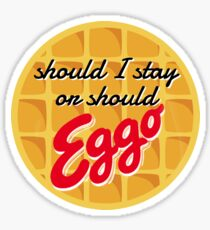 Eggo Sticker