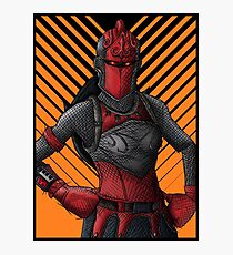 Fortnite - Red Knight  Photographic Print