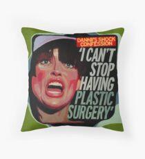 Shock Confession (Dannii) Throw Pillow