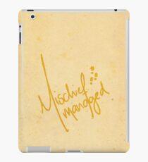 Mischief Managed 2 iPad Case/Skin