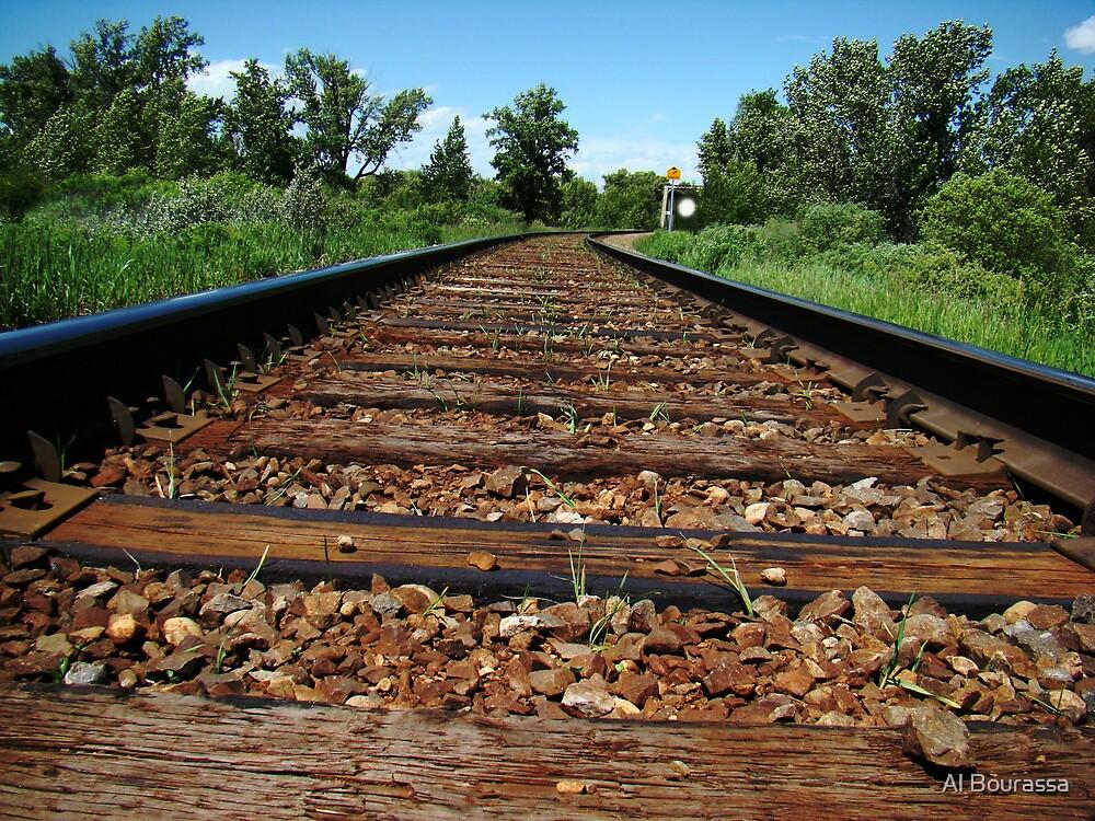 I hear the Train a comin' by Al Bourassa