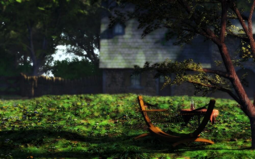 Summer in the Garden by FrankThomas