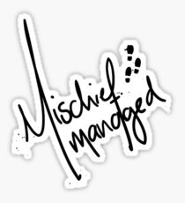 Mischief Managed 3 Sticker