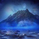 Blue Mist Rising by Beechhousemedia