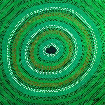 Secret Waterhole (Green) by PeakeCreations