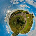 Country Roads - Killea Crossroads, Derry, N. Ireland by George Row
