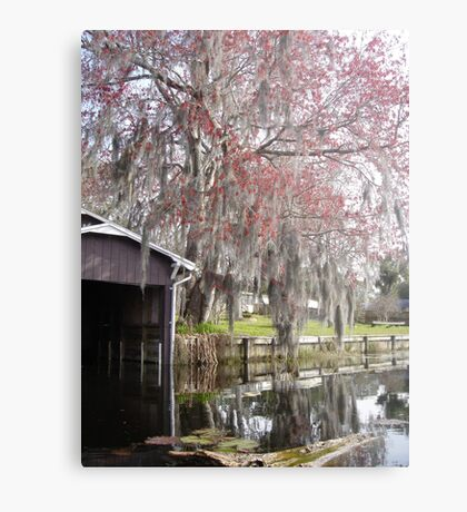 Bob's Boathouse Metal Print