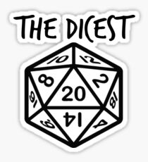 RPG Tabletop Gamer Warhammer 40k Dungeons and Dragons Sticker