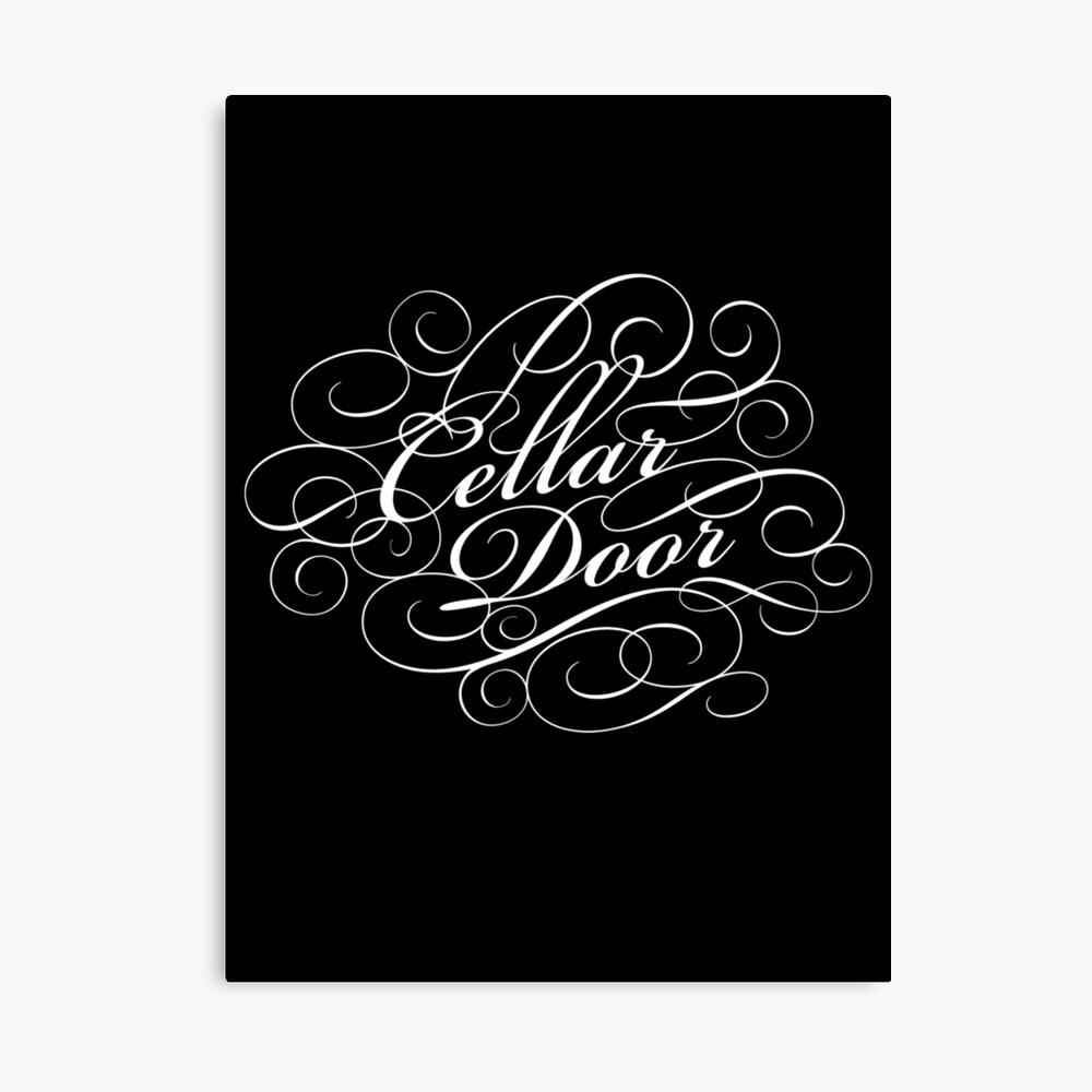 Cellar Door Canvas Print