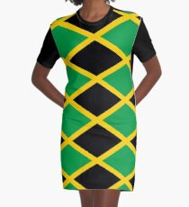 Drapeau national jamaïcain Robe t-shirt