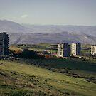 Tbilisi suburb by Maurice Jelinski