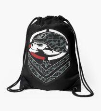 Metal mulisha skull army Drawstring Bag
