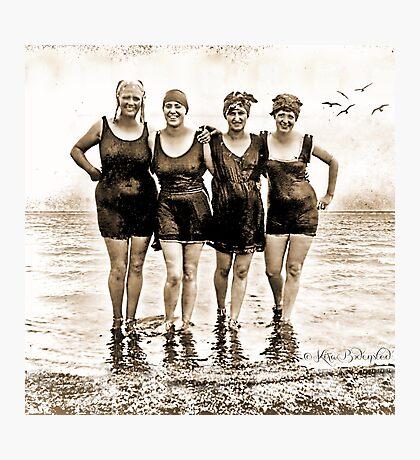 A little Chorus Line - bikinis of the '20es Photographic Print