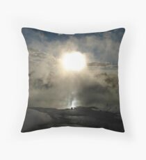 Beauty in the Strangest of Places Throw Pillow