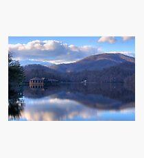 View from Lake Tahoma Photographic Print