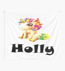 Holly Name / Inspired by The Color of Money Wall Tapestry