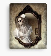 The Hollow Eyed Bride Canvas Print