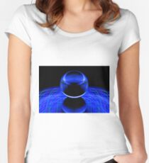 The Light Painter 52 Women's Fitted Scoop T-Shirt