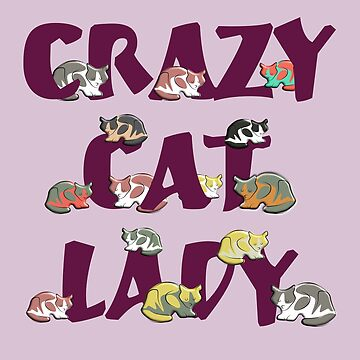 Cats : Crazy Lady by KingdomArt101