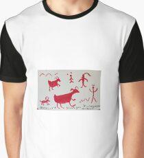 Sinagua Pictographs Graphic T-Shirt