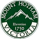 Ski Mount Hotham Victoria Australia Skiing Snowboard Mt by MyHandmadeSigns