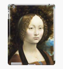 Leonardo da Vinci, Portrait of Ginevra Benci, 1474 iPad Case/Skin