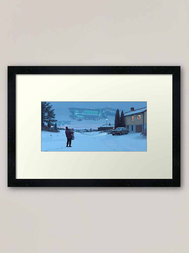 Alternate view of Closing The Loop Framed Art Print