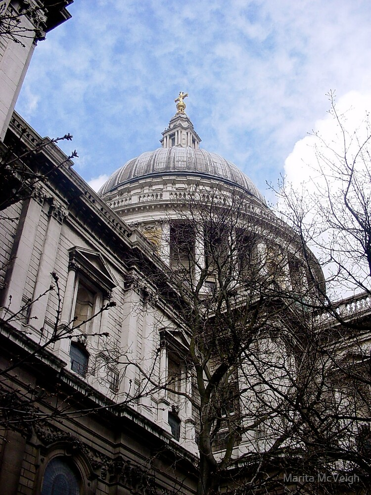 St Pauls Cathedral, London by Marita McVeigh