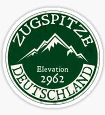 Ski ZUGSPITZE Deutschland Skiberg Deutschland Garmisch-Partenkirchen Sticker