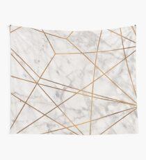 Goldener Poly-Marmor Wandbehang