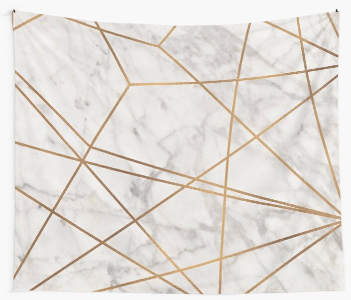 Golden Poly Marble by Royal Sass