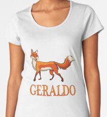 Geraldo Fox Women's Premium T-Shirt