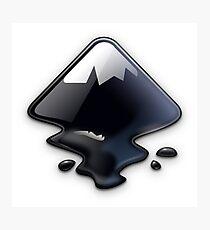 Inkscape Vector Graphics Editor Logo Photographic Print