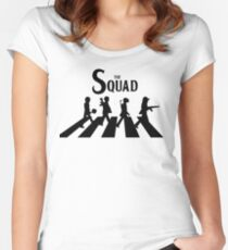 The Squad PUBG (Playerunknown's battlegrounds) Women's Fitted Scoop T-Shirt