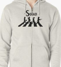 The Squad PUBG (Playerunknown's battlegrounds) Zipped Hoodie
