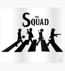 The Squad PUBG (Playerunknown's battlegrounds) Poster