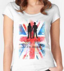 """Mrs. Peel - We're Needed!"" Women's Fitted Scoop T-Shirt"