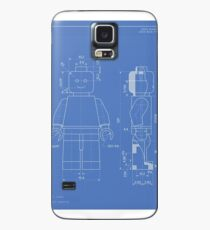 Lego Minifig Patent Case/Skin for Samsung Galaxy